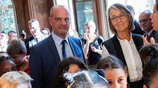 Les ministres de l'Education et de la Culture, Jean-Michel Blanquer et Françoise Nyssen, au musée Rodin le 17 septembre 2018.  (Christophe Morin / IP3 Press / MaxPPP)