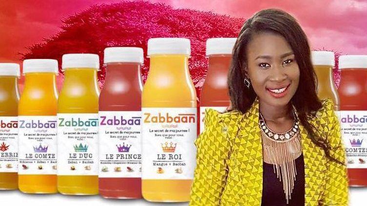 Aïssata Diakité, fondatrice et directrice générale de Zabbaan Holding (Aïssata Diakité/Montage Géopolis Afrique)