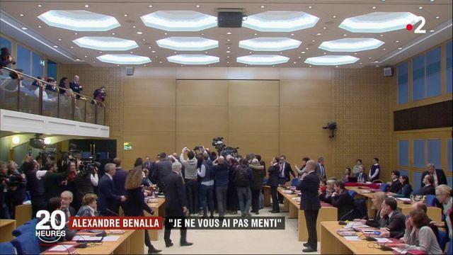 "Alexandre Benalla : ""Je ne vous ai pas menti"""