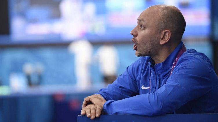 L'entraîneur national de l'escrime, Hugues Obry (JEAN MARIE HERVIO / DPPI MEDIA)
