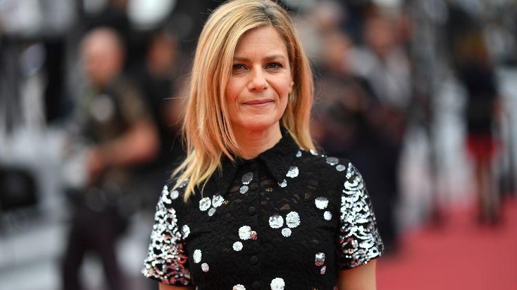L'actriceMarina Foïs, à Cannes, le 22 mai 2019. (LOIC VENANCE / AFP)