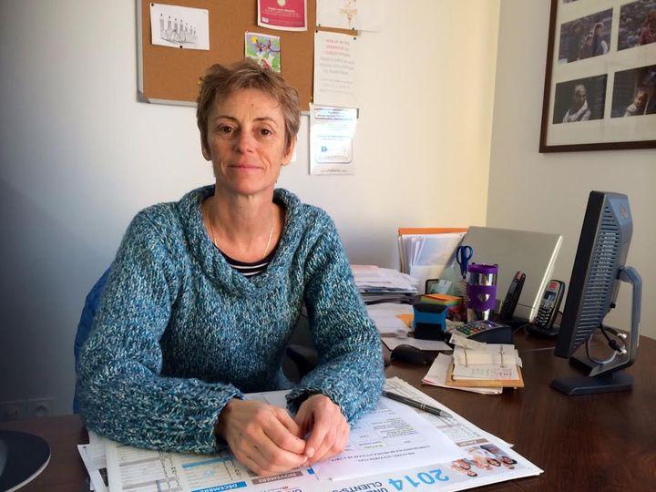 Cécile Buvry, médecin généraliste à Passy (Haute-Savoie), le 8 janvier 2015. (CAROLE BELINGARD / FRANCETV INFO )