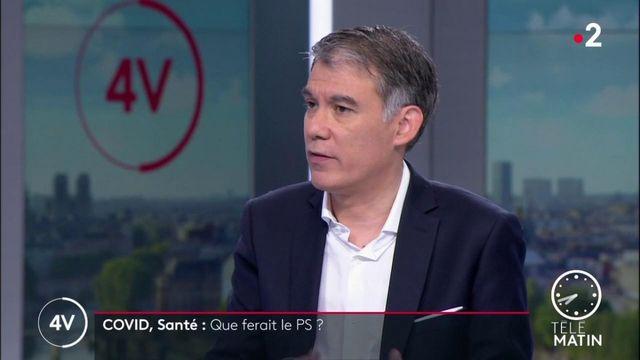 Covid-19: en France, «40% des doses arrivées n'ont pas été utilisées pour la vaccination», assure Olivier Faure (PS)