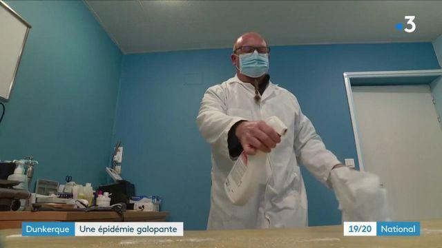 Covid-19 : à Dunkerque, de vives inquiétudes face à l'épidémie galopante