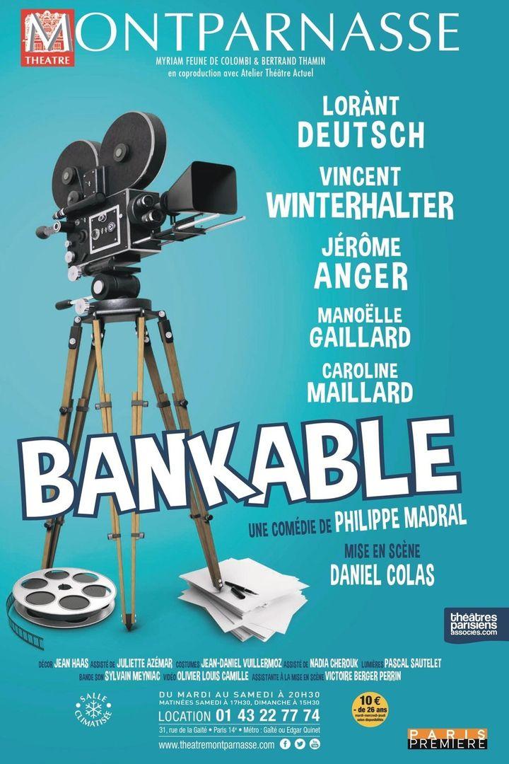 """L'affiche de """"Bankable""""  (DR)"""