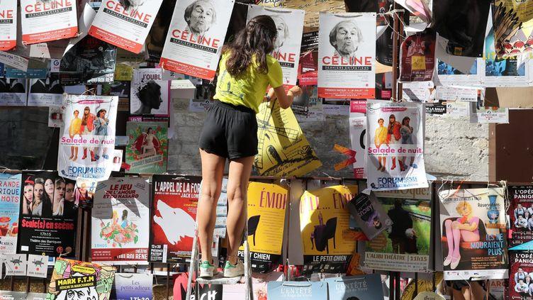 Le festival est lancé et les colleurs d'affiche envahissent les rues  (PHOTOPQR/LE DAUPHINE/MAXPPP/ Patrick Roux)