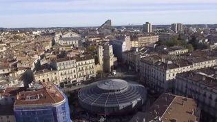Les nouvelles halles de Montpellier redynamisent le quartier (CAPTURE ECRAN FRANCE 2)