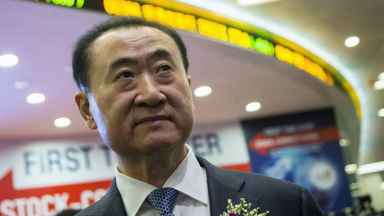 Wang Jianlin, l'homme le plus riche de Chine continentale selon Forbes en 2013,a perdu 3,7 milliards de dollards. (TYRONE SIU / REUTERS)