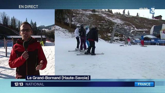 Températures trop douces : les stations de ski s'organisent
