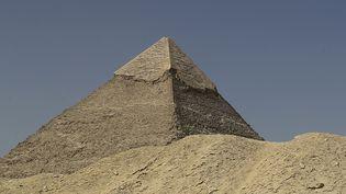 La pyramide de Khéphren en Egypte, le 2 octobre 2018. (JOSEPH EID / AFP)