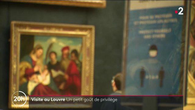 Musée du Louvre : des visiteurs animés par le sentiment d'être privilégiés