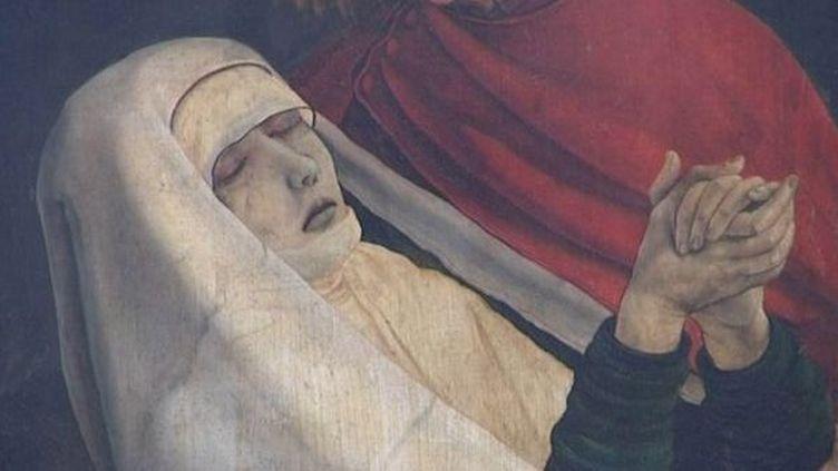 Détail du retable d'Issenheim v. 1512-1515, huile sur bois, musée d'Unterlinden, Colmar  (DR)