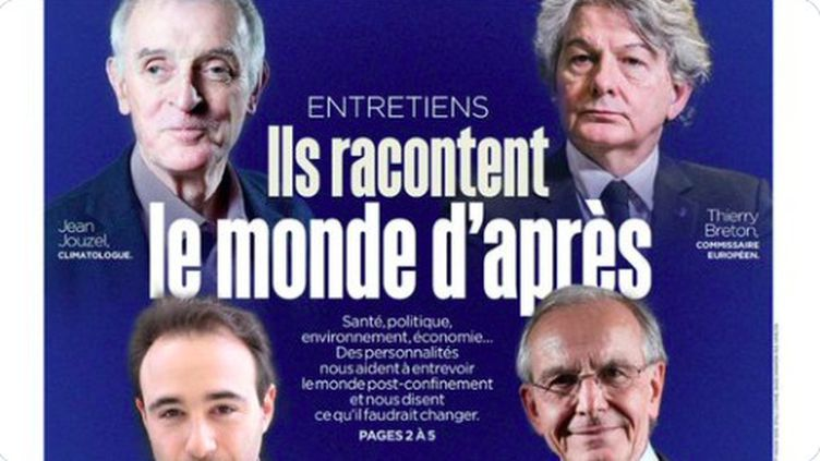"""Plusieurs personnalités se sont indignées sur les réseaux sociaux, dimanche 5 avril, après la une jugée sexiste du journal """"Le Parisien"""". (LE PARISIEN)"""