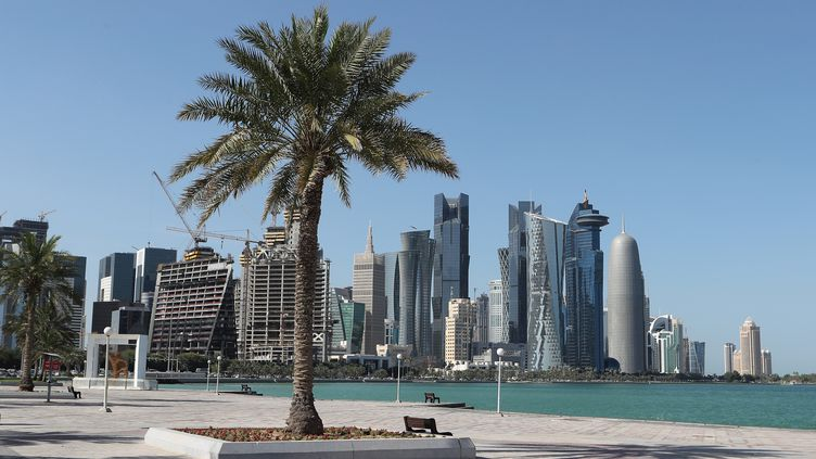 Corniche de Doha (Qatar). (STRINGER / AFP)