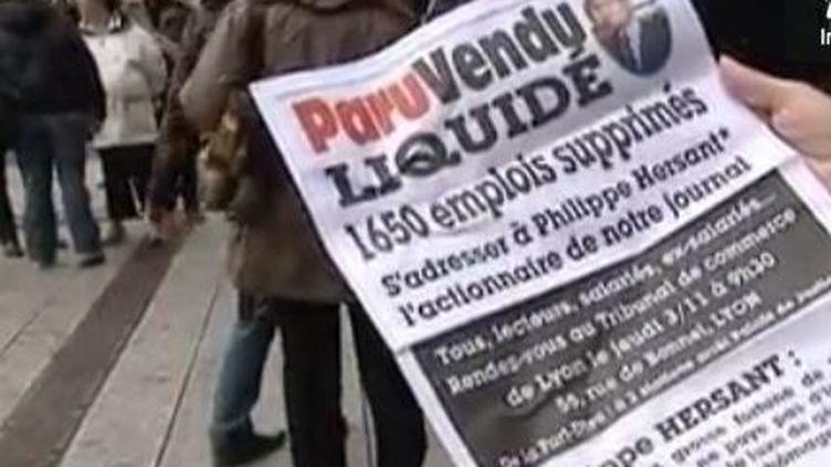 """Lyon, le dernier numéro de jeudi de """"Paru Vendu"""" (FTVi)"""