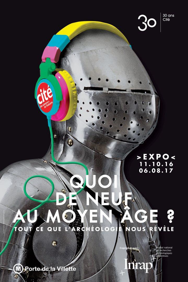 Affiche exposition Quoi de neuf au Moyen-Age ?  (Ph Levy – EPPDCSI)