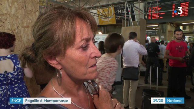SNCF : trafic interrompu à Montparnasse