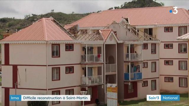 Saint-Martin n'est pas près d'oublier l'ouragan Irma