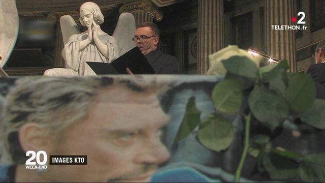 Johnny Hallyday : des centaines de fans présents à la Madeleine pour une messe anniversaire