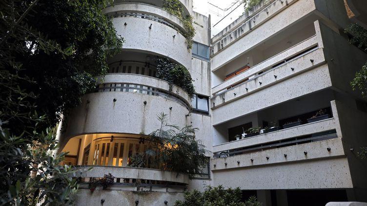 La Maison Rubinsky est l'oeuvre de l'architecte Abraham Markusfeld, et date de 1935. (THOMAS COEX / AFP)