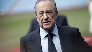Florentino Pérez souhaite toujours attirer Kylian Mbappé au Real Madrid en janvier. (BURAK AKBULUT / ANADOLU AGENCY)