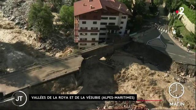 Alpes-Maritimes : les opérations de secours se poursuivent après les inondations
