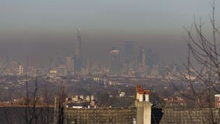 Londres sous un nuage de pollution, le 30 novembre 2016. (SIPA USA)