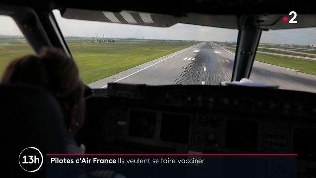 Covid-19 : les pilotes d'avion veulent être vaccinés en priorité