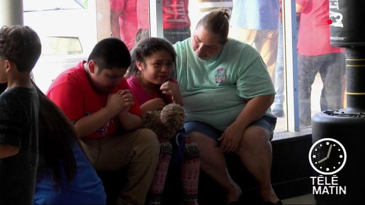 Des enfants de migrants, aux Etats-Unis. (France 2)