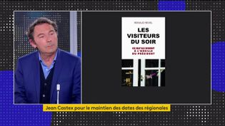Le journaliste Renaud Revel invité du 23h. (Capture franceinfo)