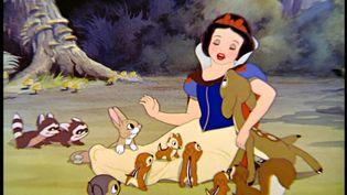Capture d'écran du dessin animé Blanche Neige et les Sept Nains,sortien 1937 (WALT DISNEY PICTURES)