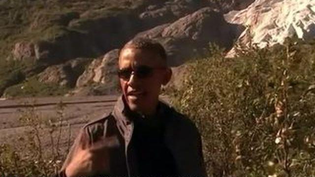 Quand Obama utilise la téléréalité pour parler des ravages du réchauffement climatique