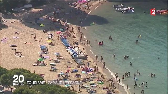 Tourisme : les vacanciers français affluent en Espagne