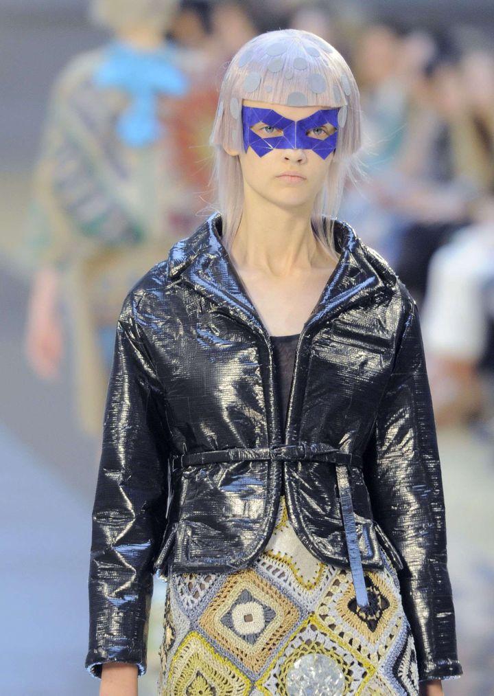 Défilé Maison Margiela haute couture automne-hiver 2015-16, à Paris.  (REX Shutterstock/SIPA)