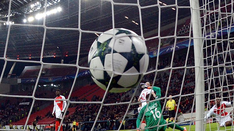 Monaco a fait tourner sur la pelouse de Leverkusen (FEDERICO GAMBARINI / DPA)