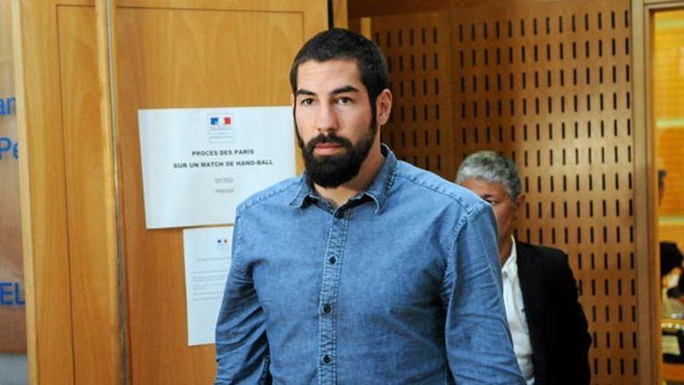 (Nikola Karabatic au tribunal de Grande Instance de Montpellier © MaxPPP)
