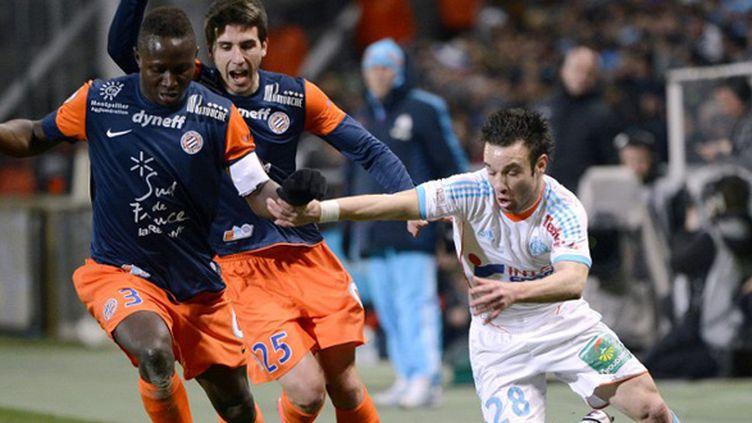Mapou Yanga-Mbiwa a disputé son dernier match sous le maillot de Montpellier face à Marseille