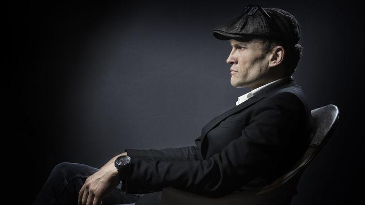 L'écrivain Sylvain tesson, le 31 janvier 2017 à Paris (JOEL SAGET / AFP)