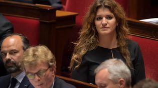 Marlène Schiappa, le 18 juin 2019, à l'Assemblée nationale. (ERIC FEFERBERG / AFP)