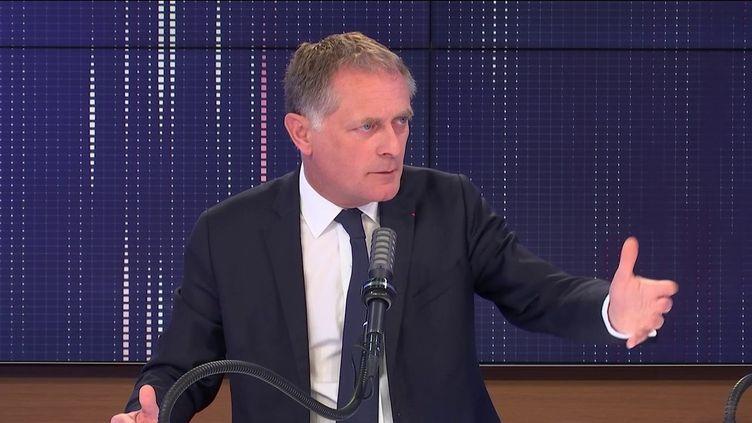 Philippe Juvin, chef des urgences de l'hôpital Georges-Pompidou à Paris, maire (LR) de La Garenne-Colombe, était l'invité de franceinfo, le 24 mai 2021. (FRANCEINFO / RADIOFRANCE)