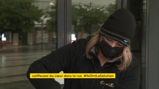Des coiffeuses vont à la rencontre de SDF dans les rues de Caen