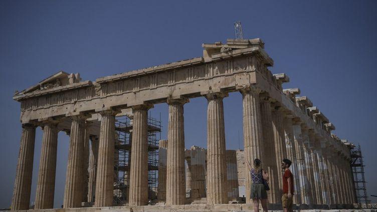 Le Parthénon à Athènes (ARIS MESSINIS / AFP)