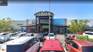 Le centre commercial à l'intérieur duquel une attaque terroriste est survenue le 3 septembre 2021 à Auckland (Nouvelle-Zélande). (GOOGLE STREET VIEW)