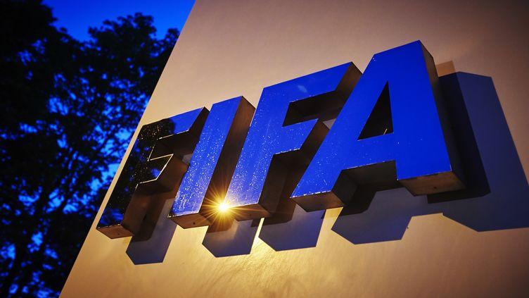Le siège de la Fifa, le 2 juin 2015 à Zurich (Suisse). (MICHAEL BUHOLZER / AFP)