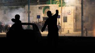 Des affrontements dans la ville de Lod, le 12 mai 2021. (OREN ZIV / DPA)