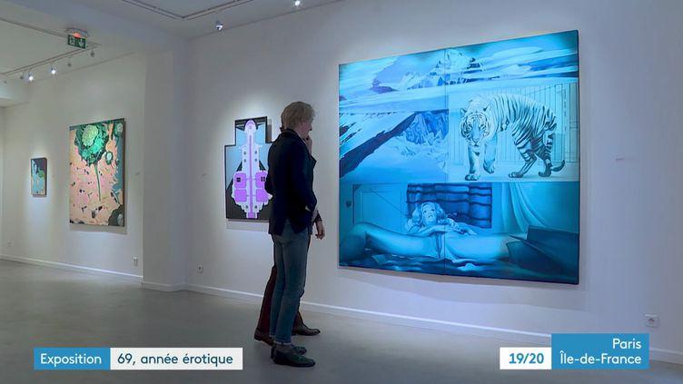 L'exposition 69 année érotique (France 3 Ile-de-France / I. Audin)