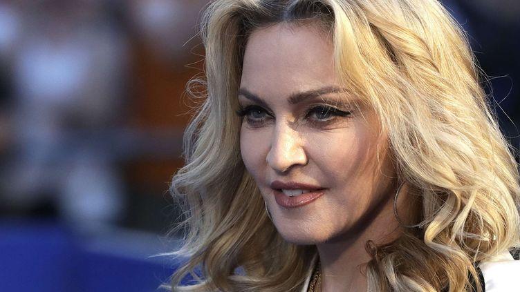 Madonna à Londres le 15 septembre 2016  (Kirsty Wigglesworth / AP / Sipa)