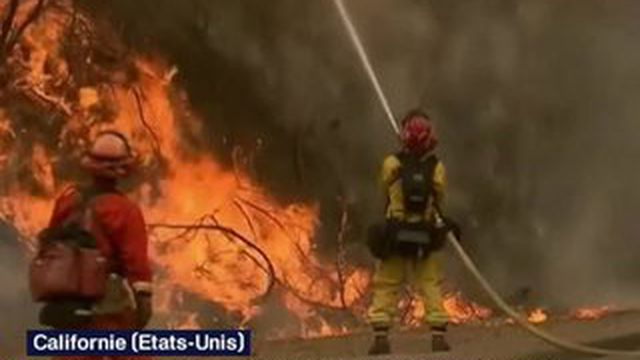 La Californie en proie à une vingtaine d'incendies depuis cinq jours