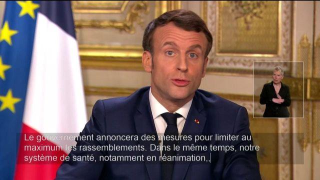 Coronavirus : Emmanuel Macron appelle la mobilisation générale dans les hôpitaux