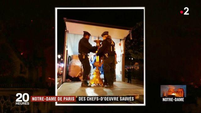 Incendie de Notre-Dame de Paris : des chefs-d'oeuvre ont été sauvés